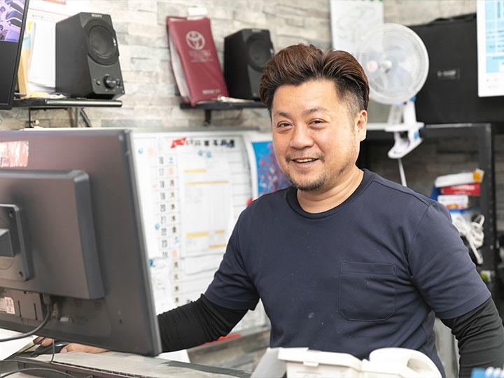 代表取締役社⻑ 今津 真